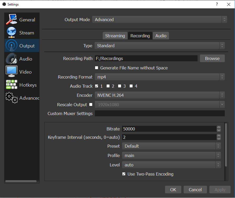 how to use x264 encoder
