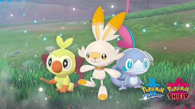 How To Get A Shiny Starter Pokemon In Pokemon Sword And