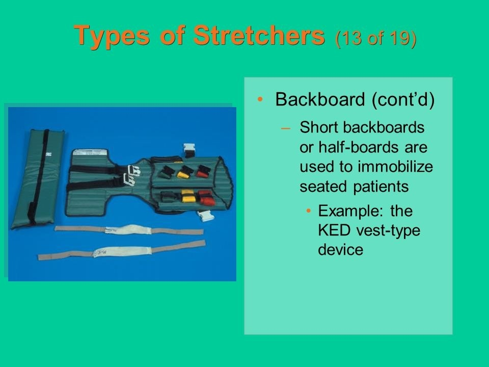 a short backboard or vest-style immobilization device is indicated for patients who-0