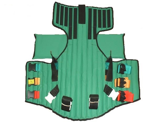 a short backboard or vest-style immobilization device is indicated for patients who-3