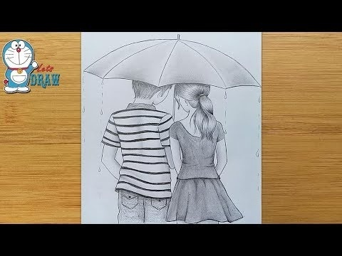 how to draw a boy and girl-0