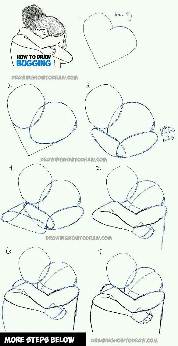 how to draw a boy and girl-4