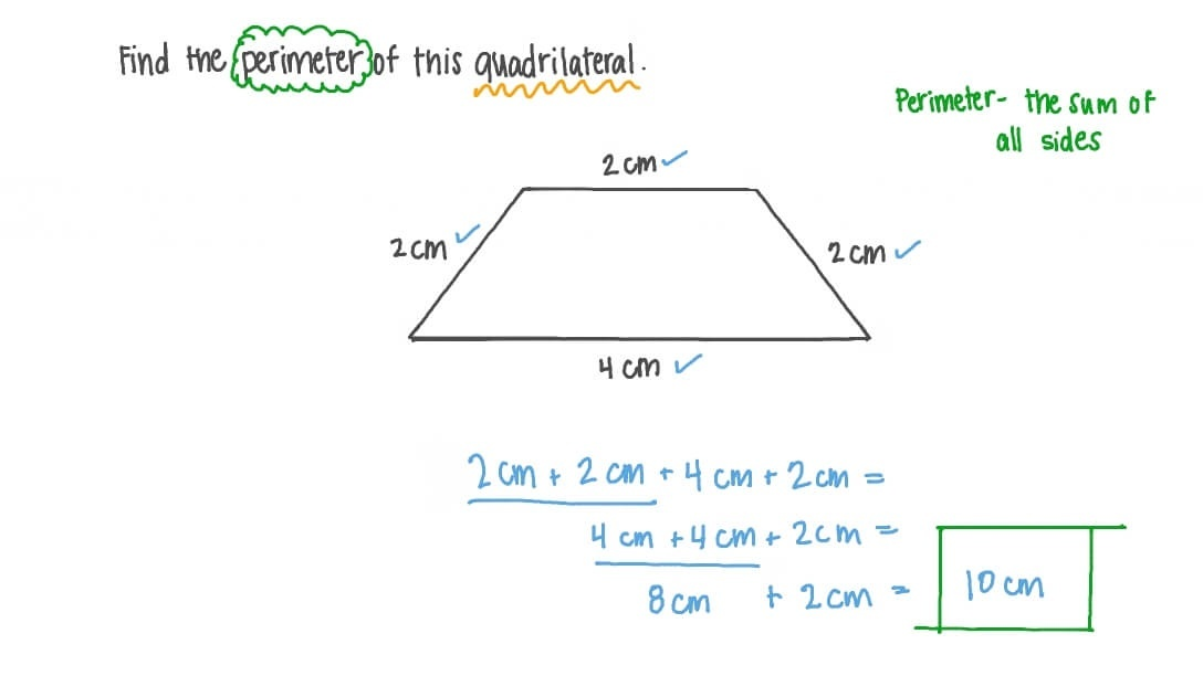 how to find the perimeter of a quadrilateral-0