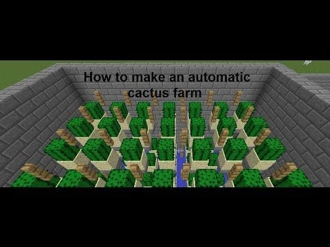 how to make a cactus farm in minecraft-0