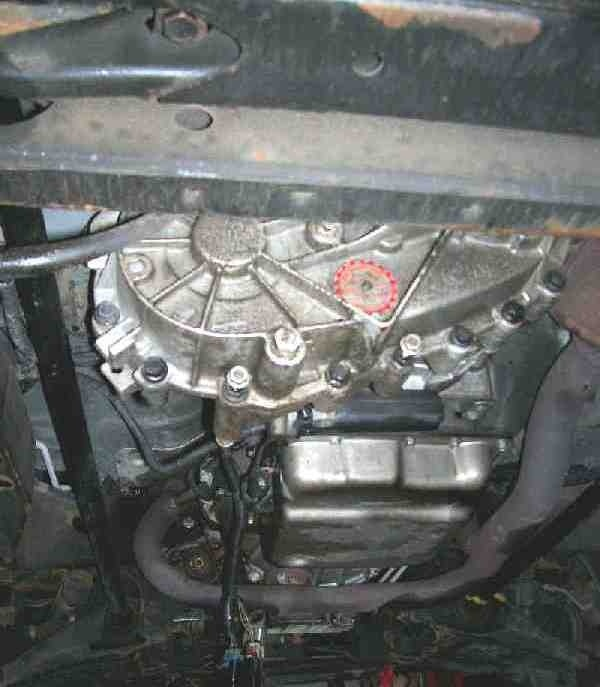 how to remove transfer case from 4l60e transmission-3