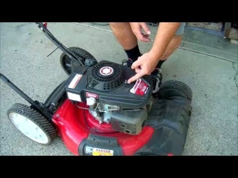 how to replace pull cord on lawn mower briggs and stratton-1