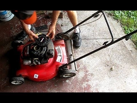 how to replace pull cord on lawn mower briggs and stratton-3