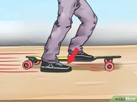 how to slow down on a longboard-0