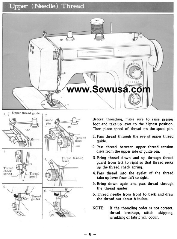 how to thread a brother sewing machine-1