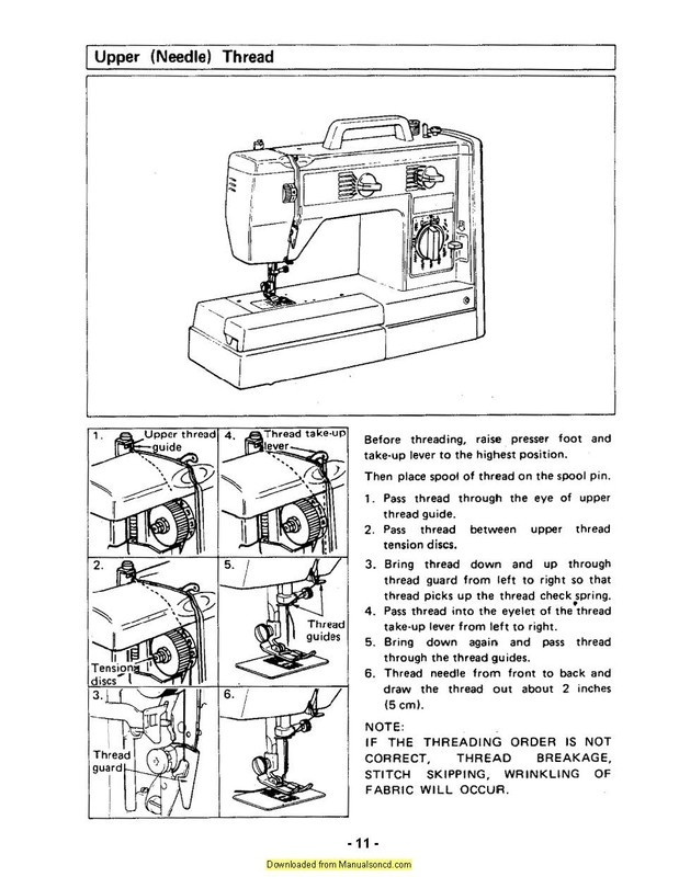 how to thread a brother sewing machine-4