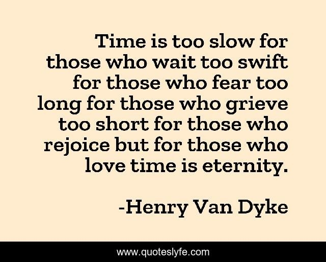 time is too slow for those who wait-2