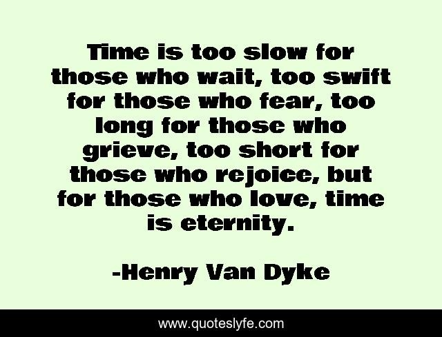time is too slow for those who wait-3