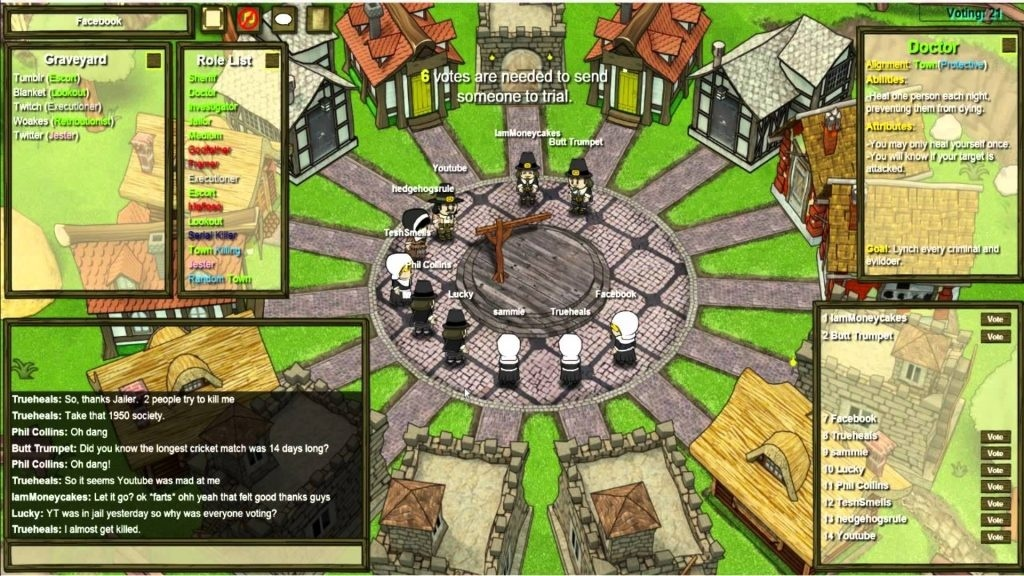 who is immune at night town of salem-2