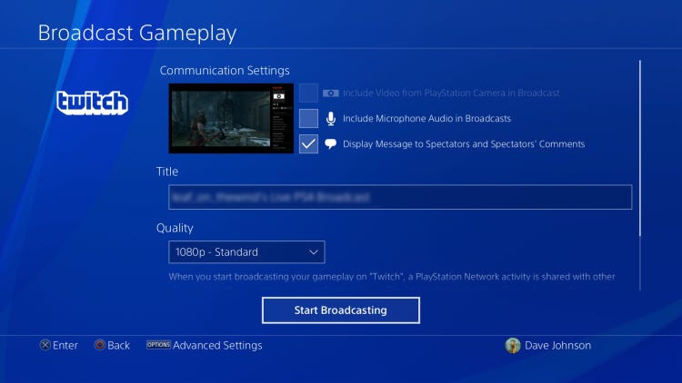 link ps4 to twitch-4