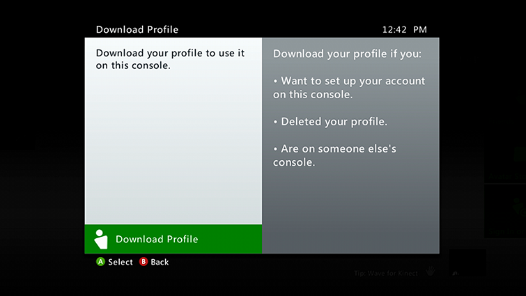 sorry this profile can't connect to xbox live on this console-6